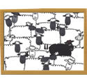 Castle Melamine Black Sheep Lap Tray