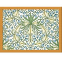 Castle Melamine William Morris Bluebell Lap Tray