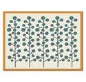 Pip Pittman Teal Berries Lap Tray